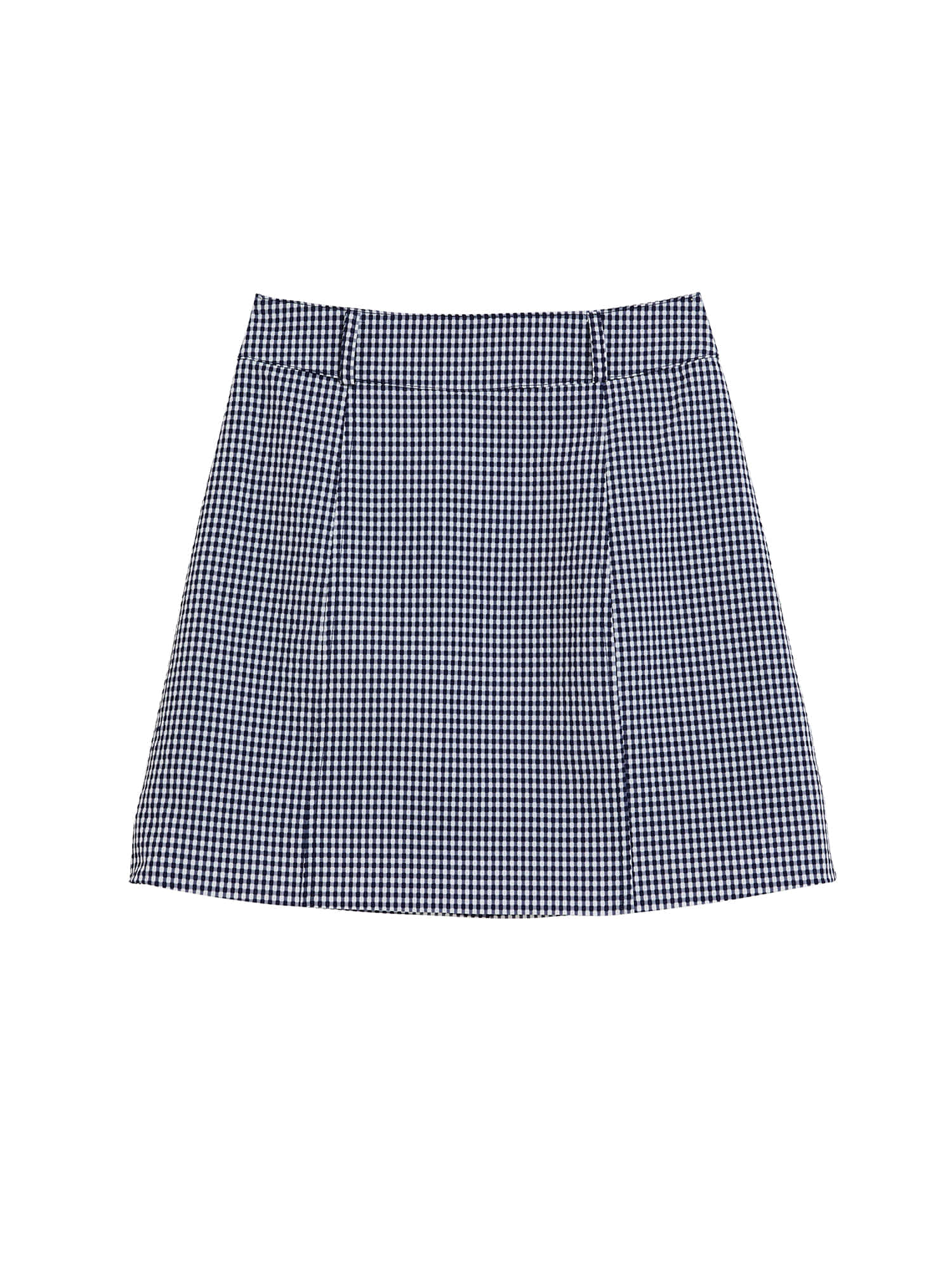Bella check skirt_navy