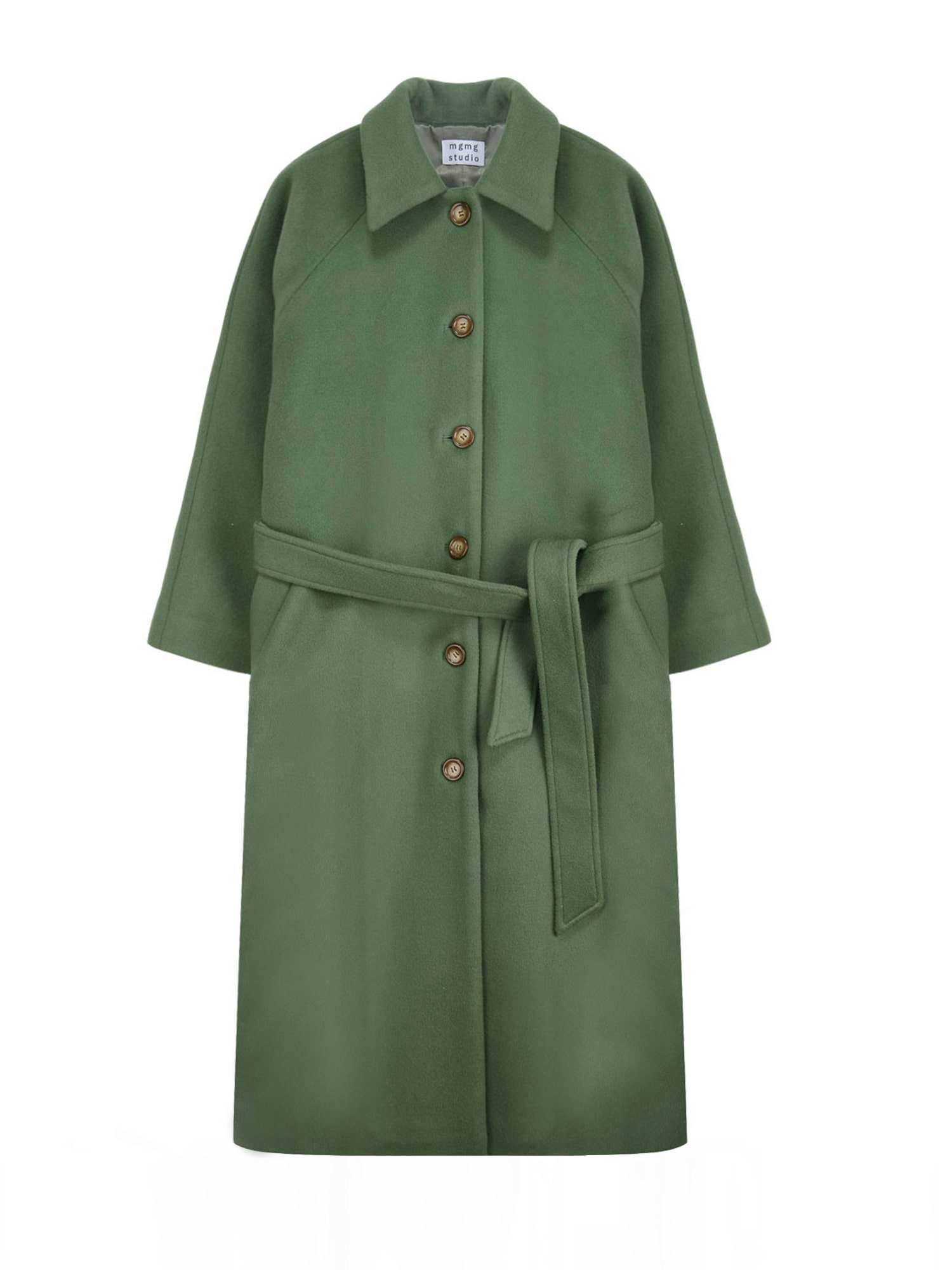 classic wool coat_green